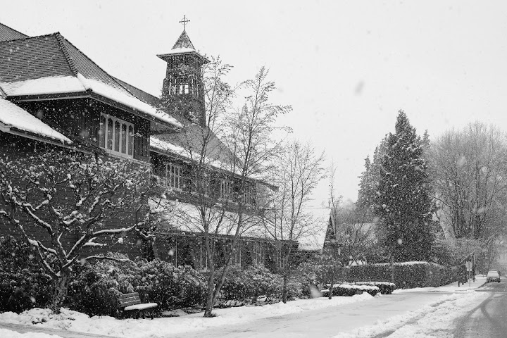 St.Mary of Kerrisdale, a view from the street