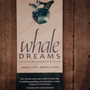 Colleen Barlow's Whale Dreams at UBC Beaty Biodiversity Museum