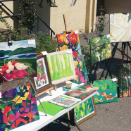 Plant Your Flowers on a Canvas: A Colloquium with the Artists In the Garden