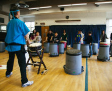 Drumming Away at Kerrisdale Sakura Festival