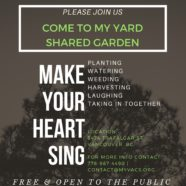 New Collaborative Garden in the heart of Kerrisdale
