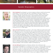 Sustainability of forests in BC